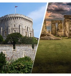 Castillo de Windsor, Bath y Stonehenge