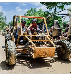 Excursión a Playa Macao en Buggy Familiar